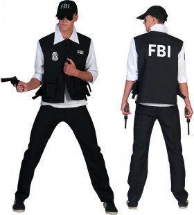 Fbi Arrest Man Kostuum