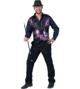 Purple Show Man
