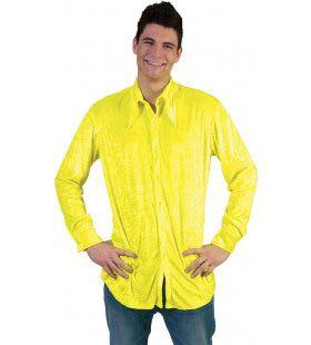 Neon Geel Hemd
