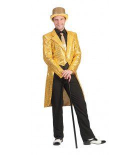 Frackjas Goud Man Kostuum