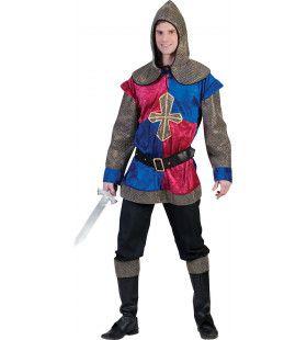 Middeleeuwen Fleur De Lis Ridder Man Kostuum