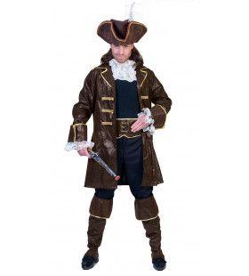 Piraat Pecunia Kostuum Man