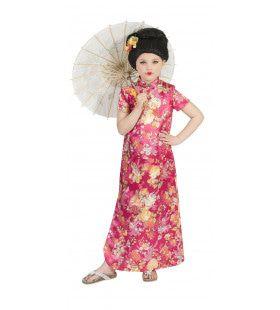 Chique Kimono Hanako Meisje Kostuum