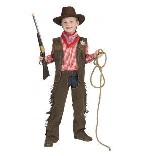 Basic Chab Cowboy Billy Jongen Kostuum