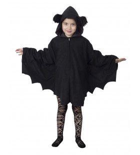 Snoezelige Zwarte Cape Kostuum