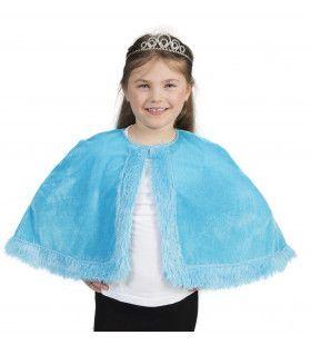 Aqua Prinsessen Cape Meisje