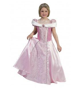 Chique Koningin Amalia Meisje Kostuum