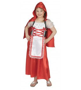 Boeren Roodkapje Meisje Kostuum