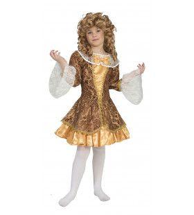 Barok Dame Condarella Meisje Kostuum