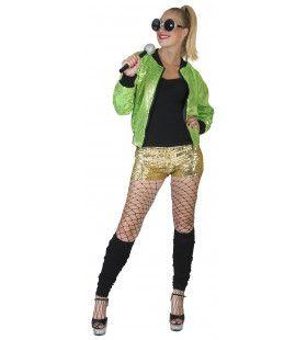 Disco Jasje Groen Vrouw