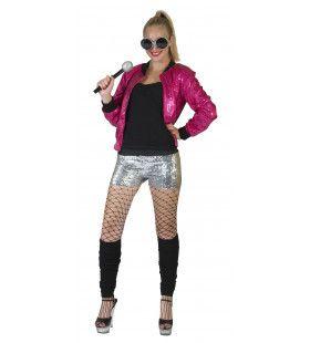 Disco Jasje Roze Vrouw