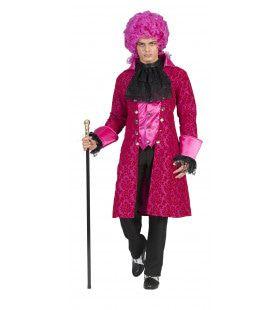Roze Barok Beau Man Kostuum