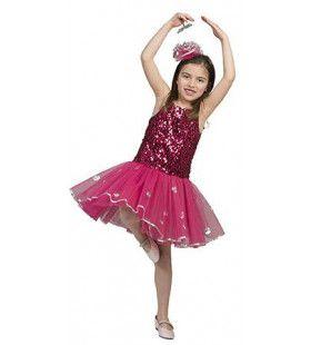 Prima Roze Ballerina Meisje Kostuum