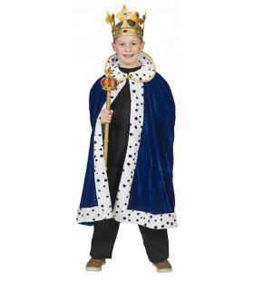 Koningsblauwe Mantel William Jongen