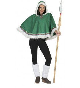 Eskimo Kimama Vrouw Kostuum