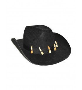 Cowboy Hoed Met Tanden