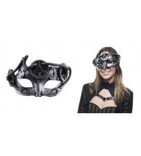 Steampunk Masker Met Tandwielen