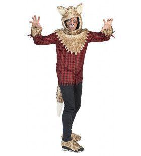 Waanzinnig Hongerige Weerwolf Man Kostuum