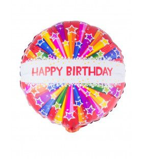 Ballon Happy Birthday