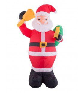 Opblaasbare Santa Kerstman 120 Centimeter