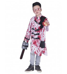 Bloederige Dwangbuis Patient Kostuum