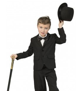 Deftig Zwart Colbert Chaplin Jongen