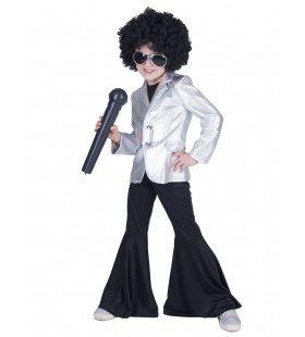 Disco Fever Popster Jas Zilver Kind