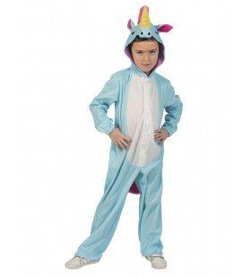 Zeldzame Blauwe Eenhoorn Kostuum
