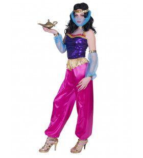 Verlokkelijk Zwoel Harem Vrouw Kostuum
