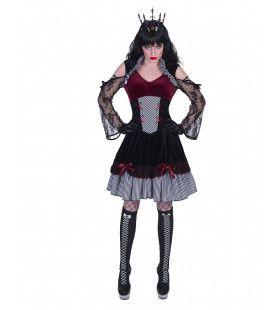 Boze Gotische Schoonheid Freya Vrouw Kostuum
