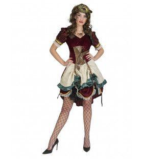Victoriaanse Industriele Revolutie Steampunk Vrouw Kostuum