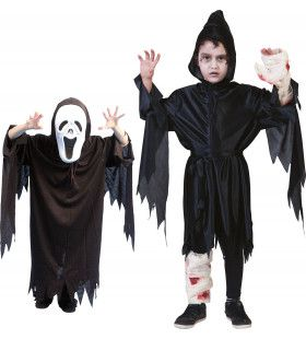 Gruwelijk Schreeuwende Spook Geest Kostuum