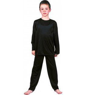 Zwarte Inbreker Dief Van De Nacht Kostuum