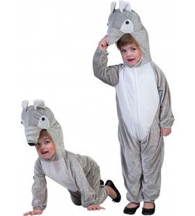 Grijze Regenwoud Tapir Kind Kostuum
