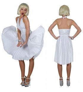 Seven Years Itch Marilyn Vrouw Kostuum