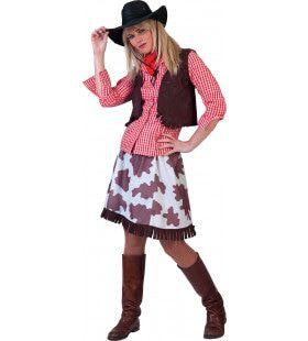 Poker Alice Cowgirl Vrouw Kostuum