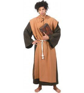 Benedictijnse Klooster Monnik Man Kostuum