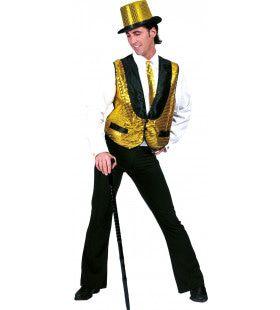 Spetterend Gouden Showman Vest