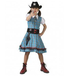 Snel Schot Sue Saloon Cowgirl Meisje Kostuum