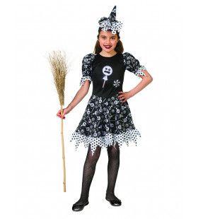 Verleidelijke Snoep Heks Enge Lollies Meisje Kostuum