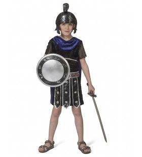 Goddelijke Onoverwinnelijke Griekse Strijder Troje Jongen Kostuum