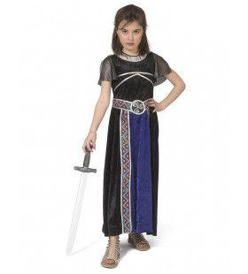 Goddelijke Onoverwinnelijke Griekse Strijder Troje Meisje Kostuum
