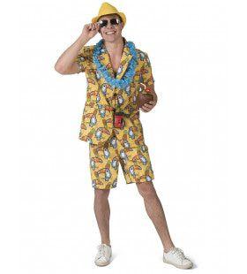 Tropisch Toekan Amazone Safari Man Kostuum