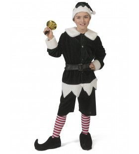 Noordpool Kerstelf Hulpje Van De Kerstman Jongen Kostuum