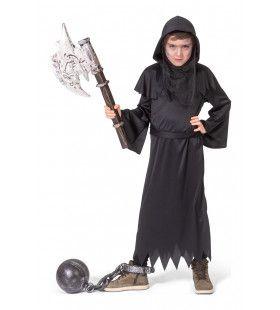 Niet Te Bedwingen Zwarte Beul Kind Kostuum