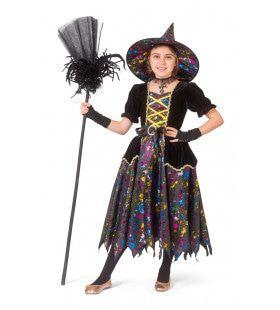 Klaar Voor Het Heksenbal Heks Meisje Kostuum