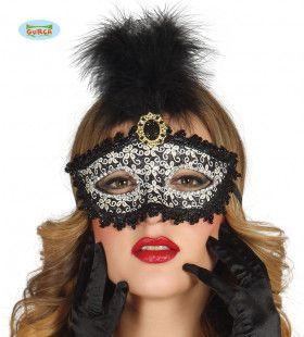 Venetiaans Oogmasker Met Dons