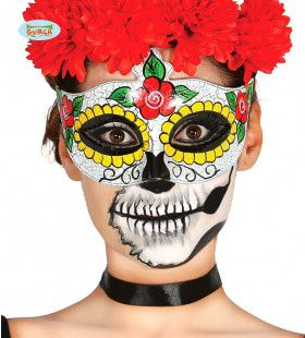 Day Of The Dead Masker Slecht Gebit