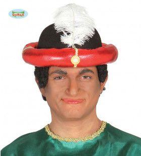 Rode Maharadja Tulband