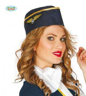 Baret Gouden Vleugels Stewardess